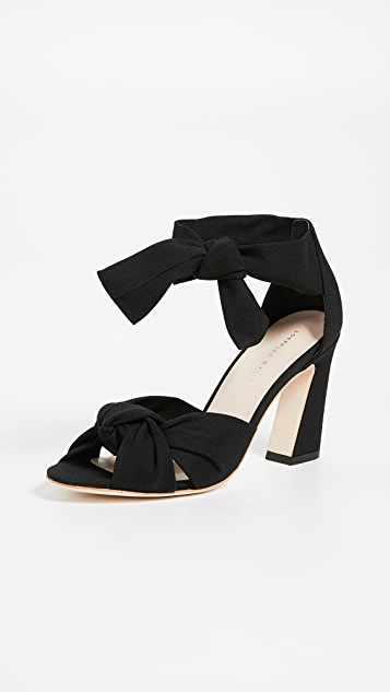 Loeffler Randall Nan Ankle Tie Sandals