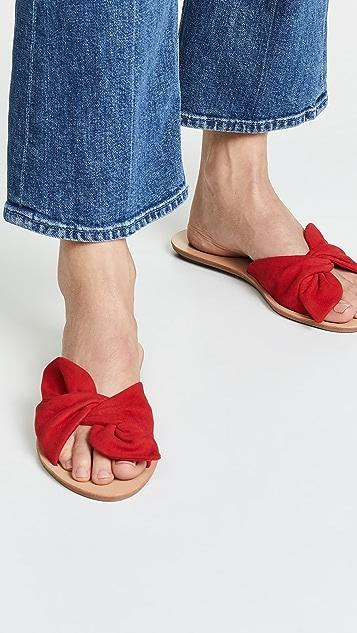 Loeffler Randall Phoebe Knotted Slide Sandals