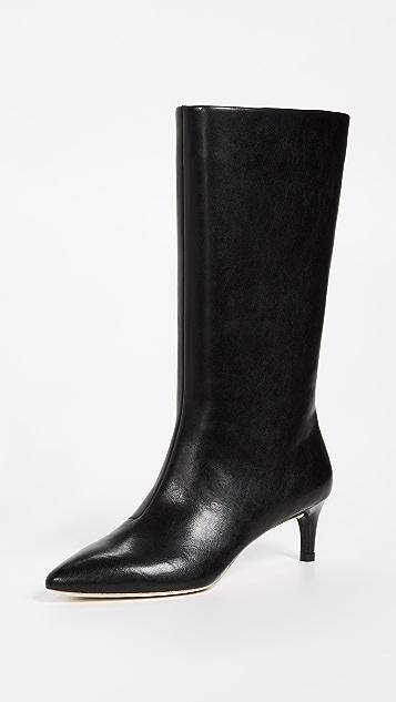 Loeffler Randall Naomi Kitten Heel Tall Boots