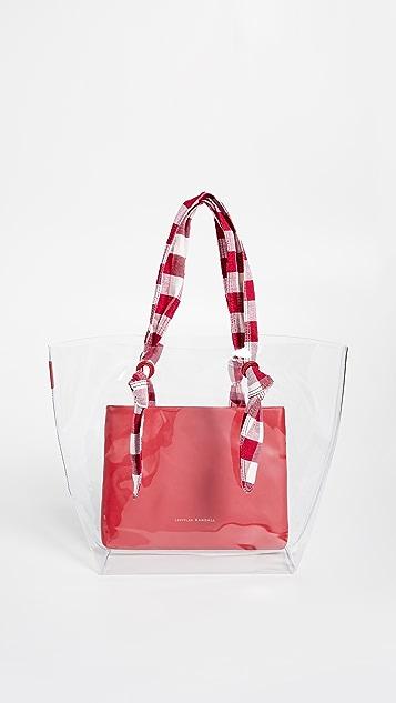 Loeffler Randall Объемная сумка с короткими ручками Lydia