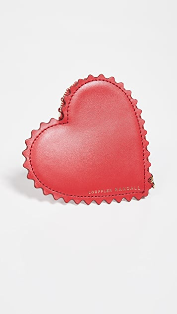 Loeffler Randall Cora Heart Wallet