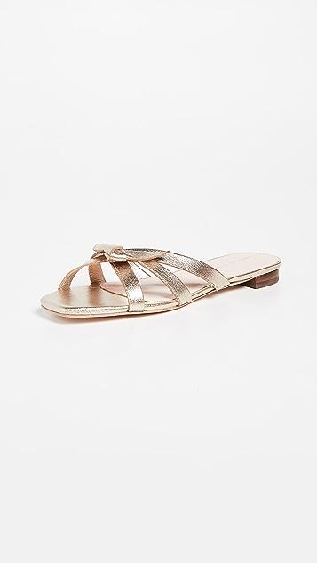 afbb6bedab5e Loeffler Randall Eveline Delicate Strap Flat Sandal