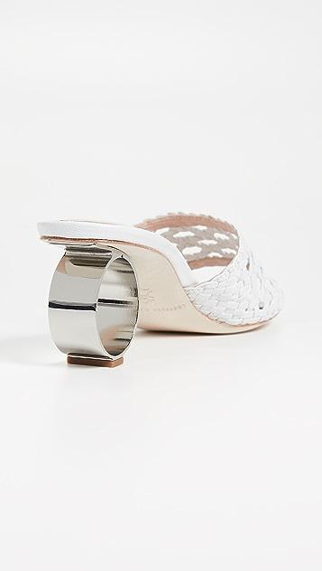 Loeffler Randall Плетеные сандалии Brette