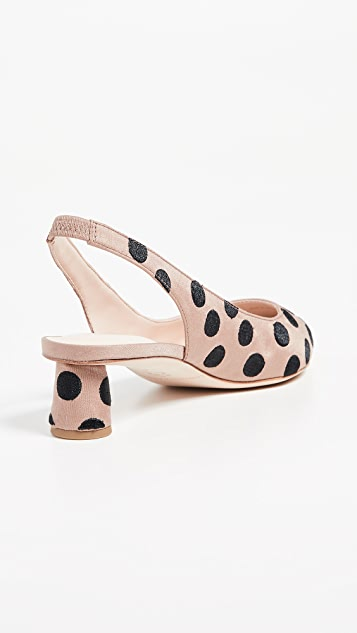 Loeffler Randall Laura Slingback Pumps with Bow