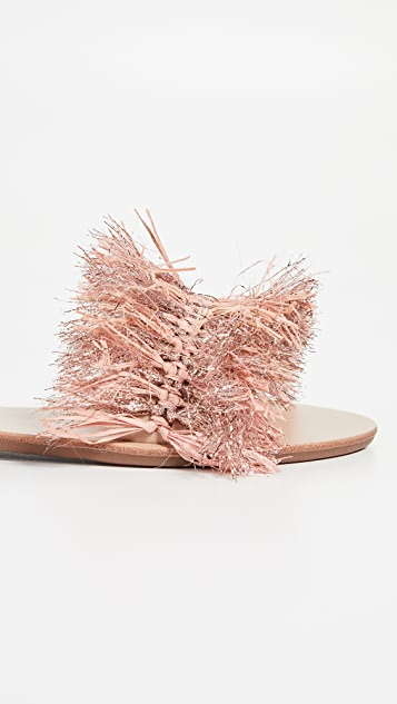 Loeffler Randall Katie Raffia Plank 便鞋