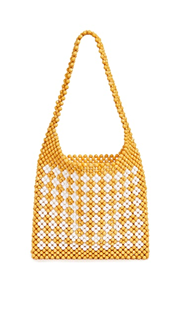 Loeffler Randall Mini Beaded Hobo Bag