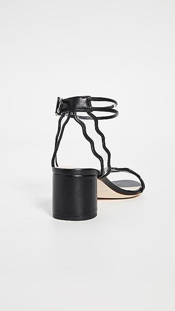 Loeffler Randall Сандалии на квадратном каблуке Emi