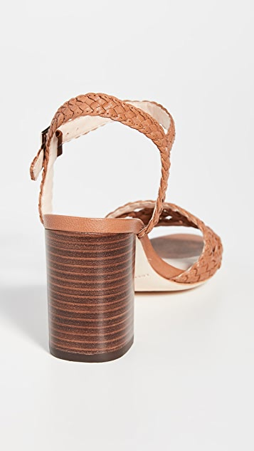 Loeffler Randall Liana Woven Leather Sandals