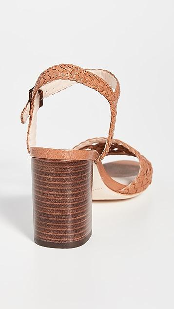 Loeffler Randall Liana 梭织皮凉鞋