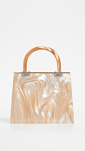 Loeffler Randall Flavia Mini Hard Case Bag