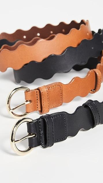 Loeffler Randall Rickrack Belt
