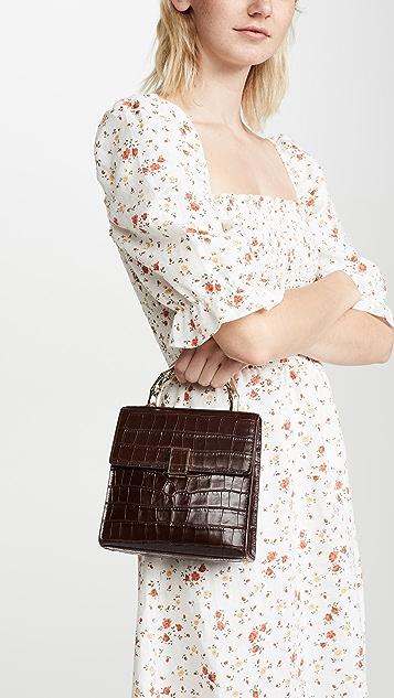 Loeffler Randall Миниатюрная квадратная сумка через плечо Tani
