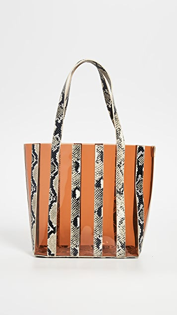 Loeffler Randall Marlena Pieced Tote Bag