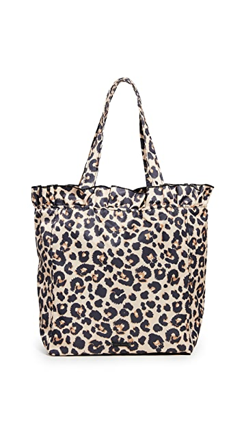 Loeffler Randall Большая объемная сумка с короткими ручками Roxana