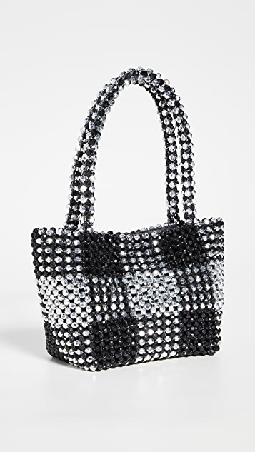 Loeffler Randall Mini Beaded Tote Bag