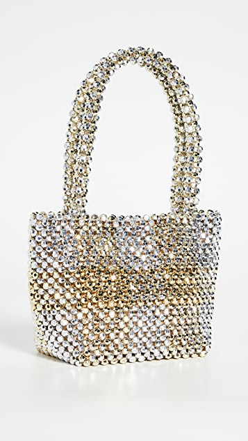 Loeffler Randall Mini Beaded Tote