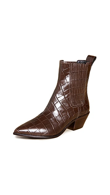 Loeffler Randall Aylin Low Western Booties