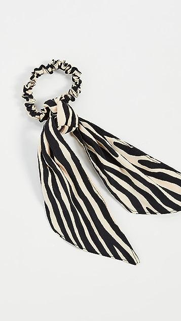 Loeffler Randall Evie Elegant Bow Scrunchie