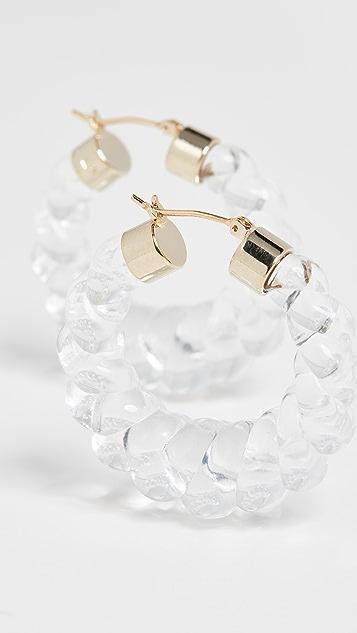 Loeffler Randall Janis 树脂圈式耳环