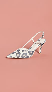 Athea Pointy Toe Slingback Pumps