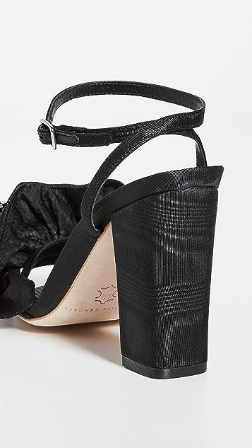 Loeffler Randall Босоножки на каблуках Savannah с оборками