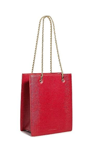 Loeffler Randall Объемная сумка-шоппер с короткими ручками Antoinette
