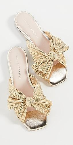 Loeffler Randall - Daphne Knot Flat Sandals