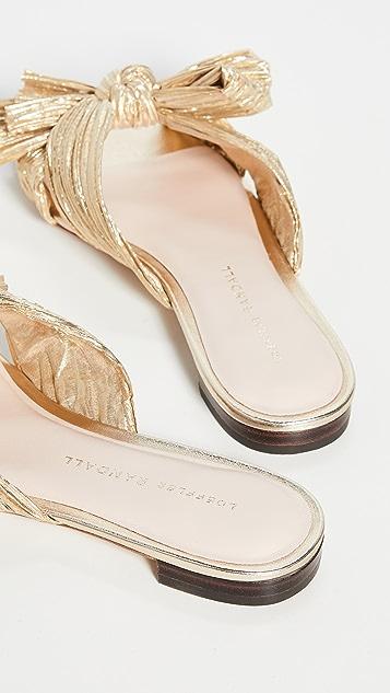 Loeffler Randall Daphne Knot Flat Sandals