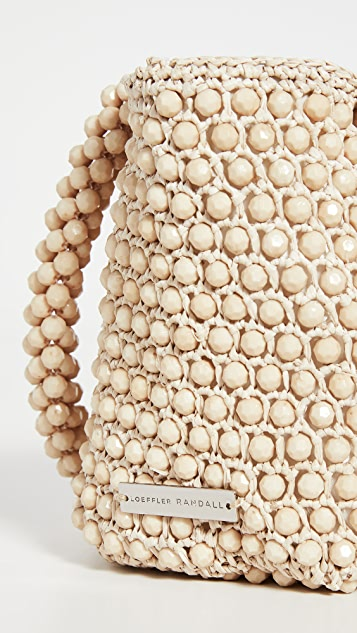 Loeffler Randall Mina Beaded Mini Tote Bag