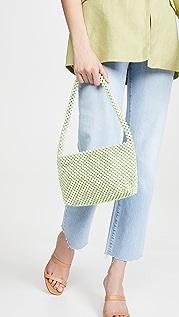 Loeffler Randall Marleigh Beaded Baguette Bag