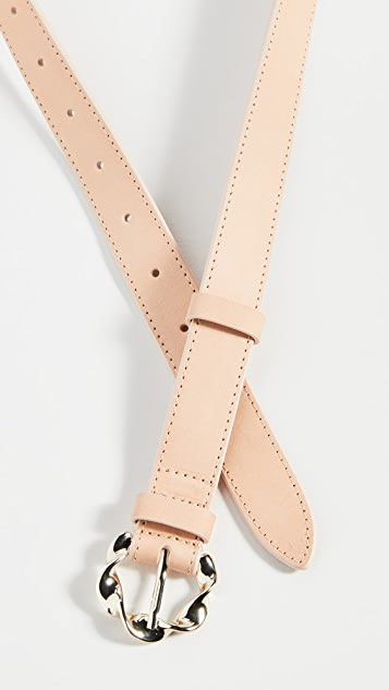Loeffler Randall Josephine Abstract Twist Buckle Belt