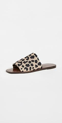 Loeffler Randall - Daria Stretch Square Toe Slides