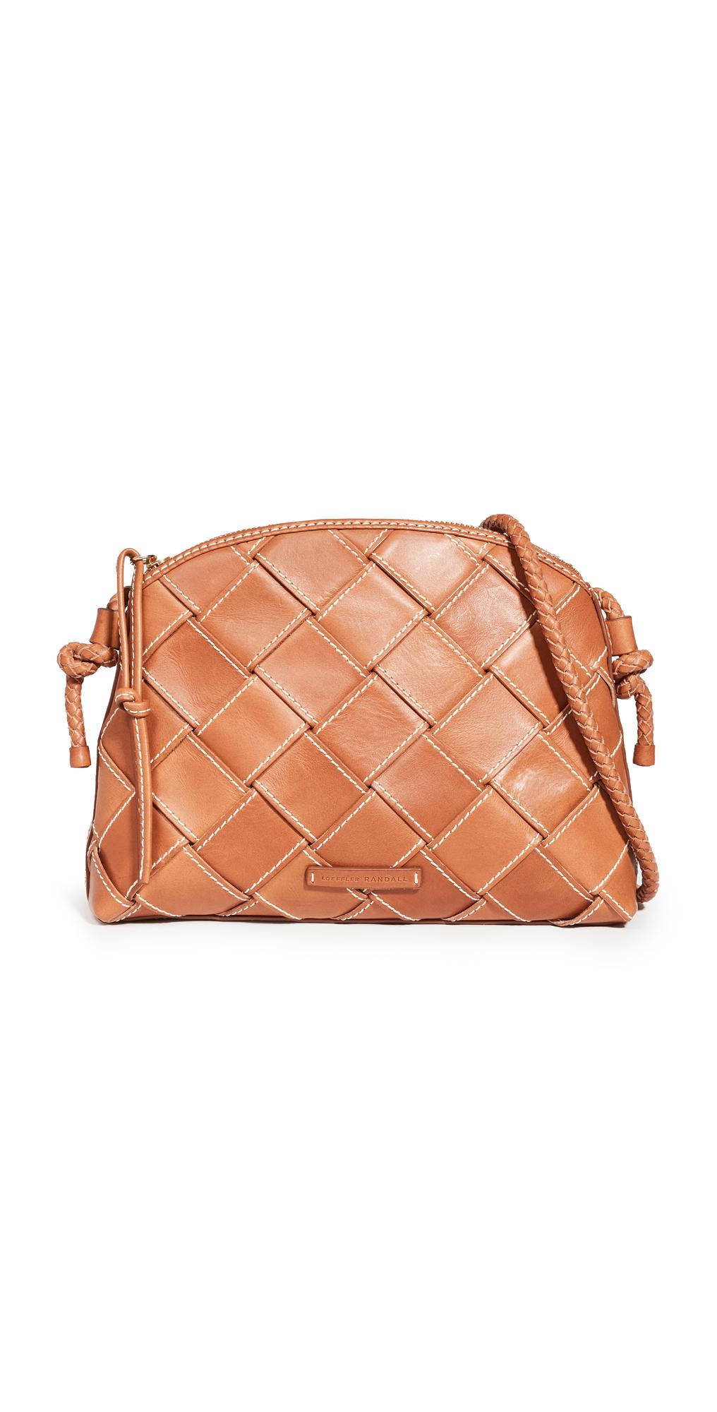Loeffler Randall Mallory Woven Crossbody Bag