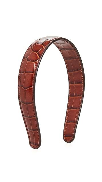 Loeffler Randall Bobbie Leather Headband