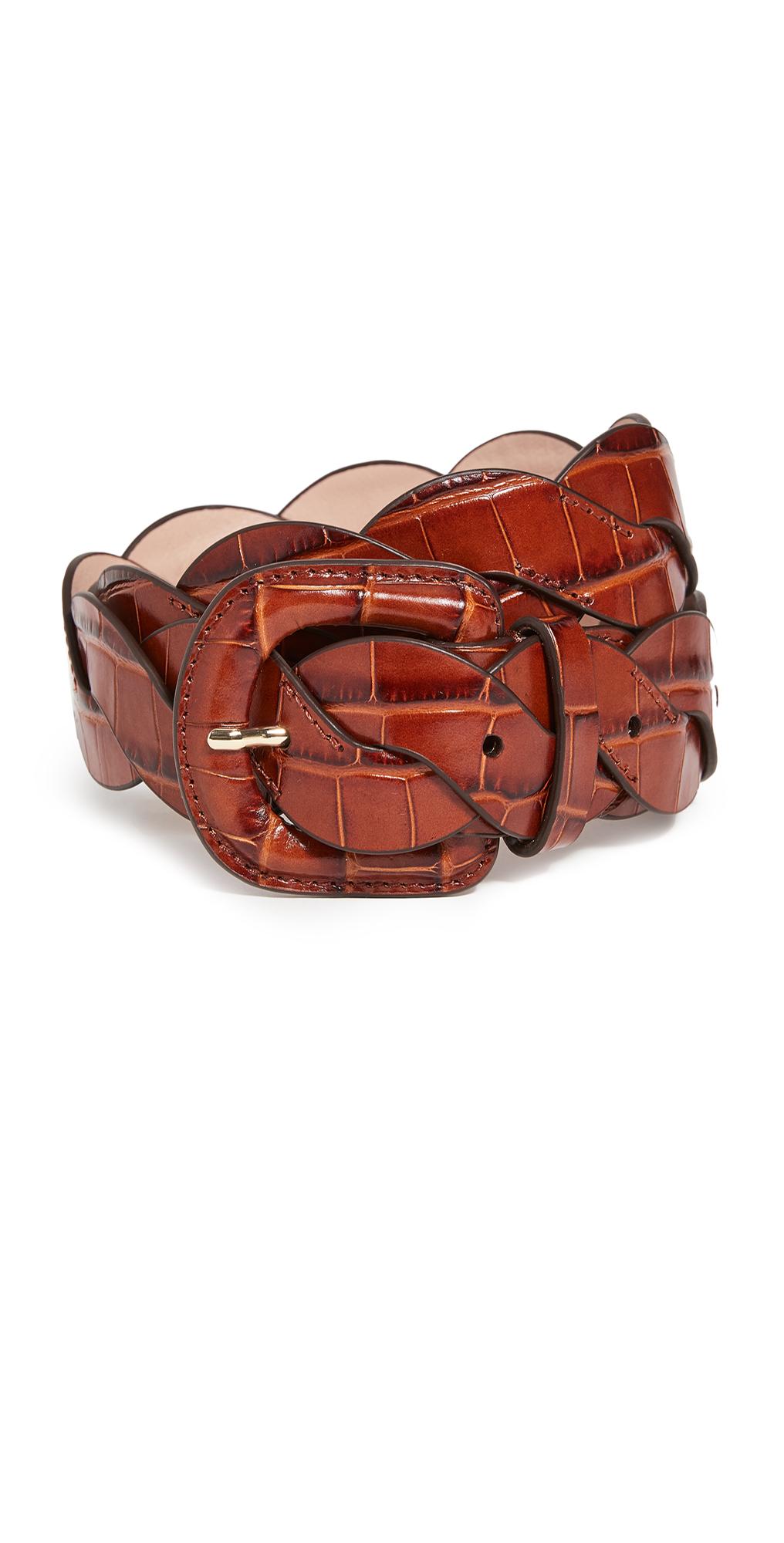 Loeffler Randall Deidre Wavy Pieced Belt