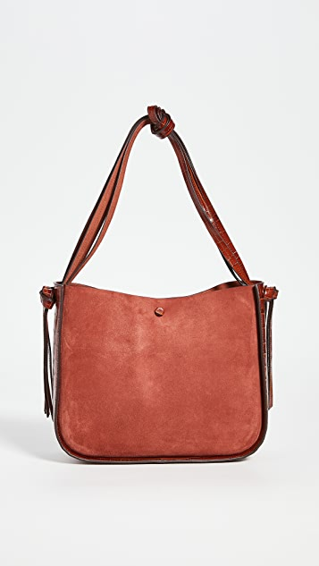 Loeffler Randall Marnie Turned Out Tote with Knot