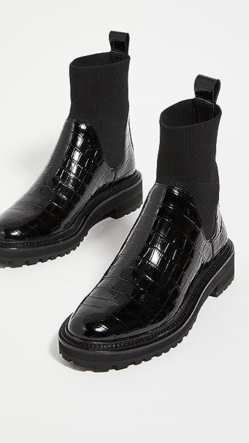 Loeffler Randall Bridget Chelsea Combat Boots