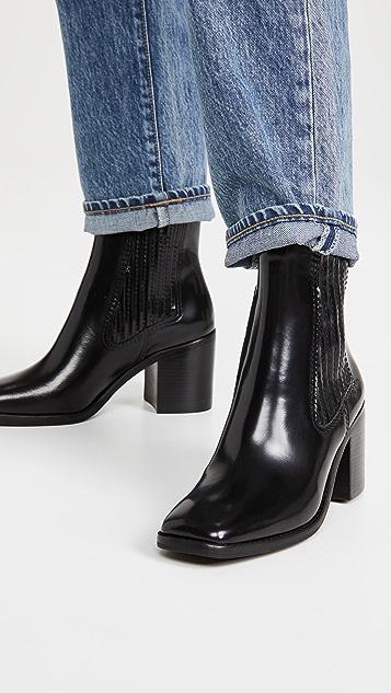 Loeffler Randall Arianna Square Toe Boots