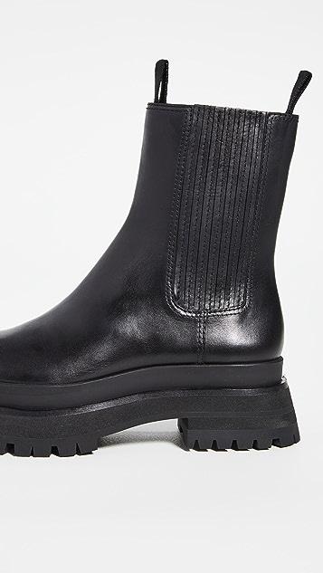 Loeffler Randall Toni 沟纹鞋底厚底靴