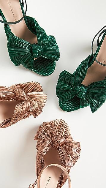 Loeffler Randall Camellia Knot Mules