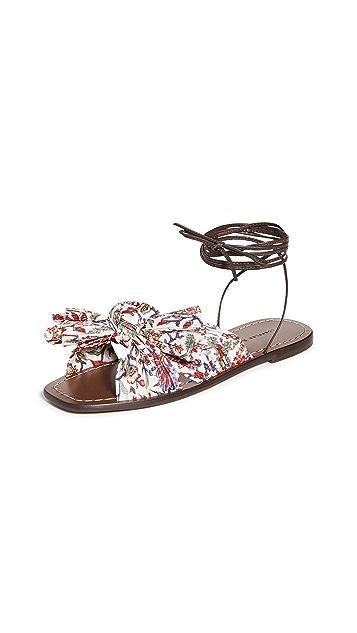 Loeffler Randall Peony Wrap Sandals