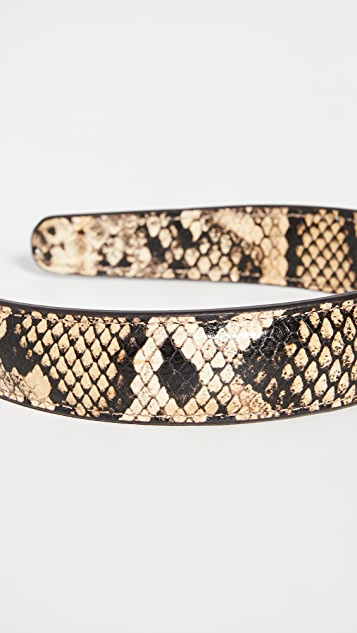 Loeffler Randall Leather Headband