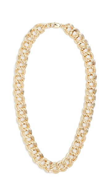 Loeffler Randall Double Link Necklace
