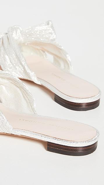 Loeffler Randall Daphne 结饰平底凉鞋