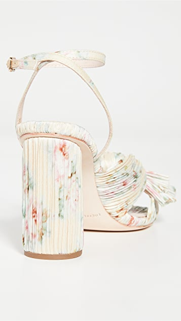 Loeffler Randall Camellia Sandals with Ankle Strap
