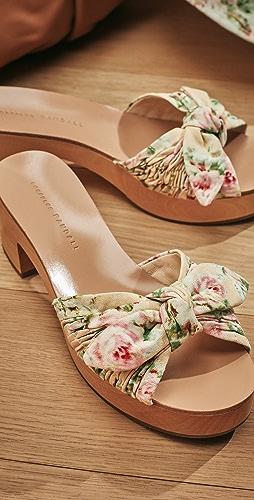 Loeffler Randall - Regina Clog Slide Sandals