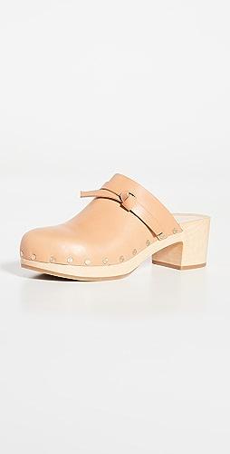 Loeffler Randall - 低跟木底鞋