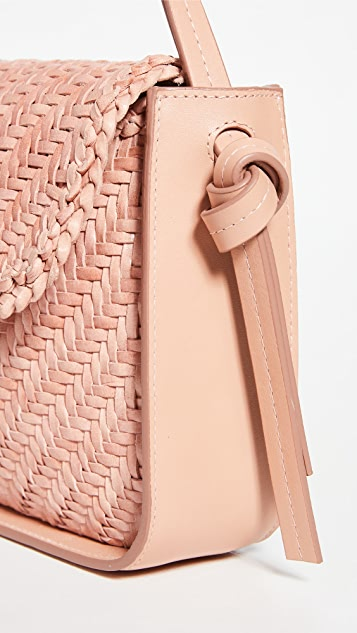 Loeffler Randall Maggie Woven Turned Out 长方形包