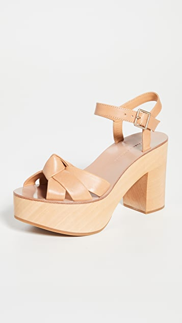 Loeffler Randall Elsa Clog Sandals