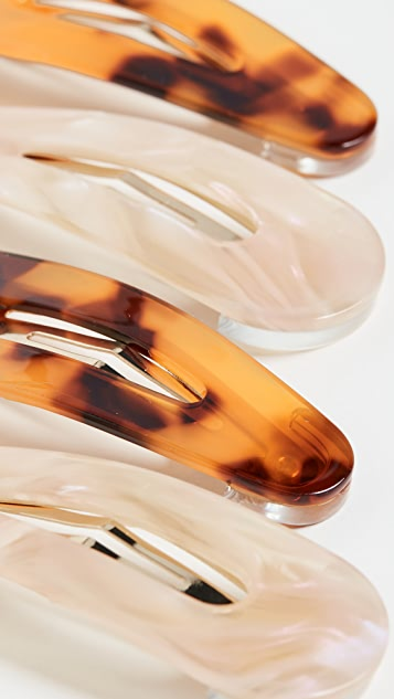 Loeffler Randall Salli Resin Clip Set